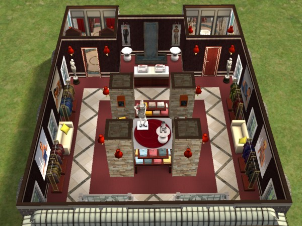 Sims Floor Elevation Cheat : Mod the sims all purpose clothing store no cc cheats
