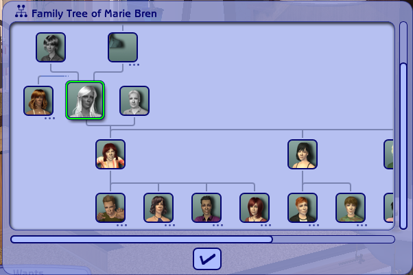 Mod The Sims - Extended family treated as family
