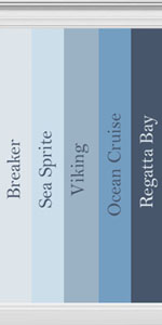 Collection Of Blue Hued Walls Inspired By Behr Paint