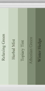 Behr Paint Colors Colorsmart Palette 20