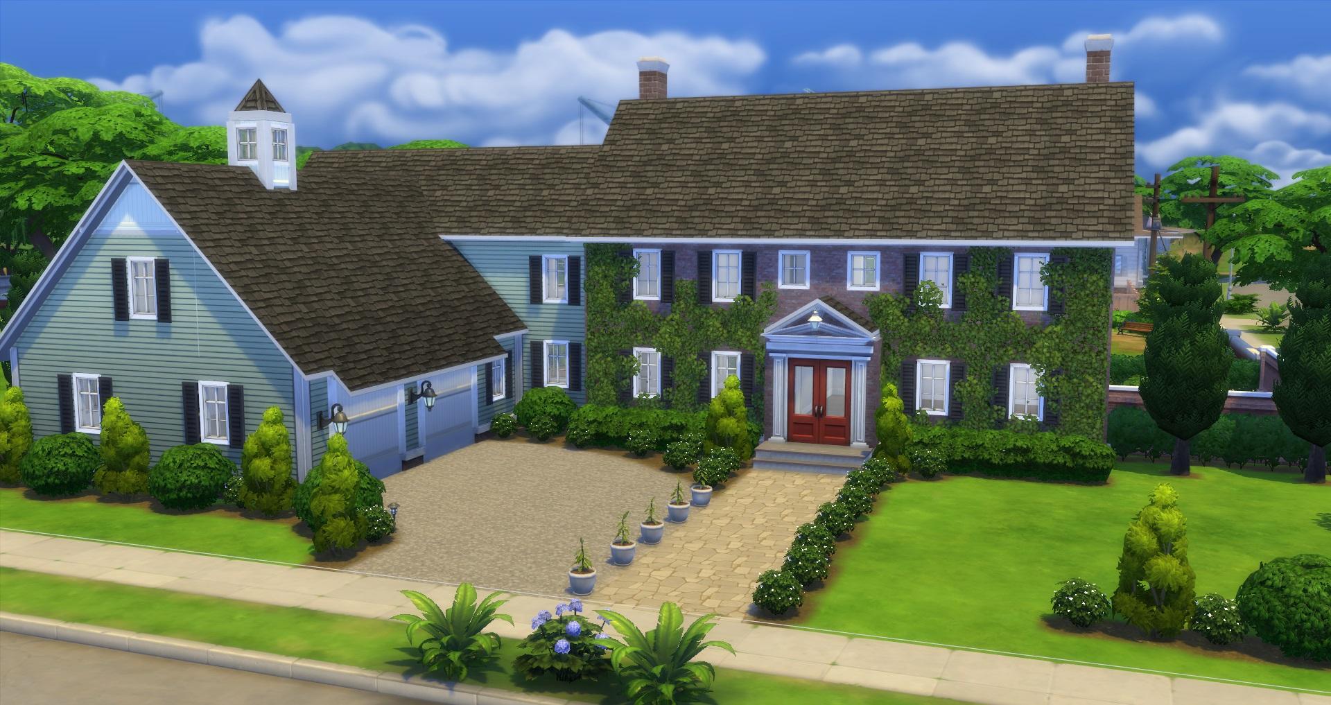 Mod The Sims Duxbury Colonial Cc