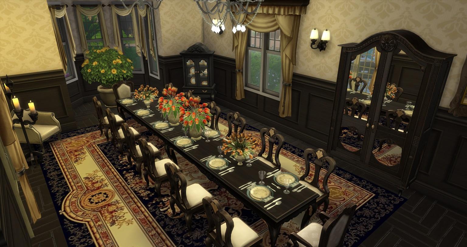 Mod The Sims Luxury Mansion Base Cc 7bd 5ba