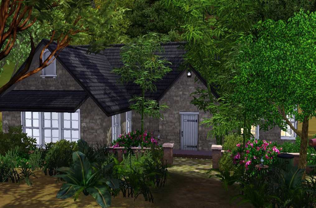 Mod the sims cottage edward bella breaking dawn part 2 - Edwards house in twilight ...