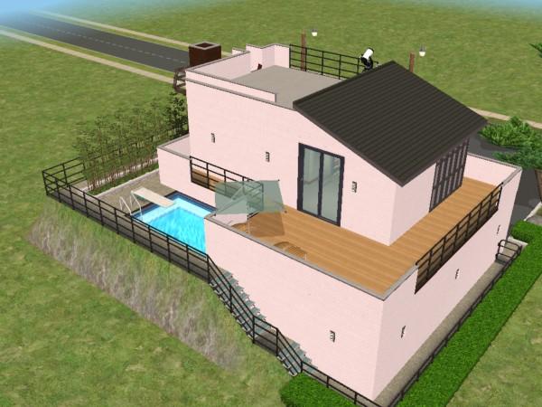 Mod Sims Rumah Modern Tropis Kecil Gambar Foto Terbaru Mini & Desain Rumah Minimalis The Sims 4 \u0026 The Sims Where Anything Look ...