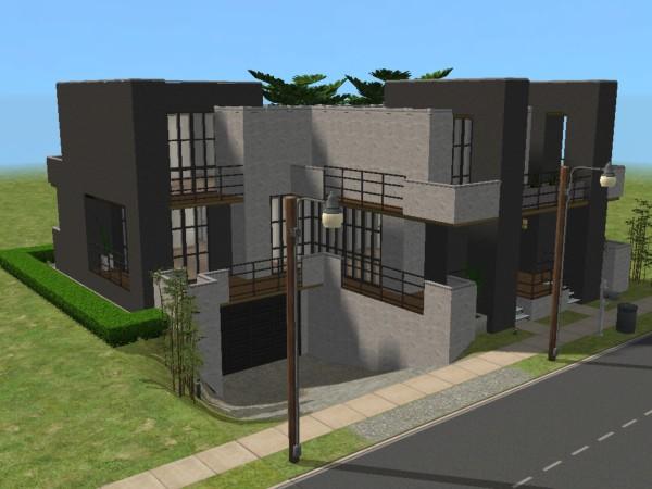 x & Mod The Sims - Rumah Kecil Minimalis