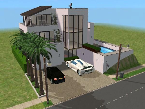 X. Image Number 63 Of Desain Rumah Modern The Sims . & Desain Rumah Mewah The Sims 2 \u0026 The Big House [Lot 2]
