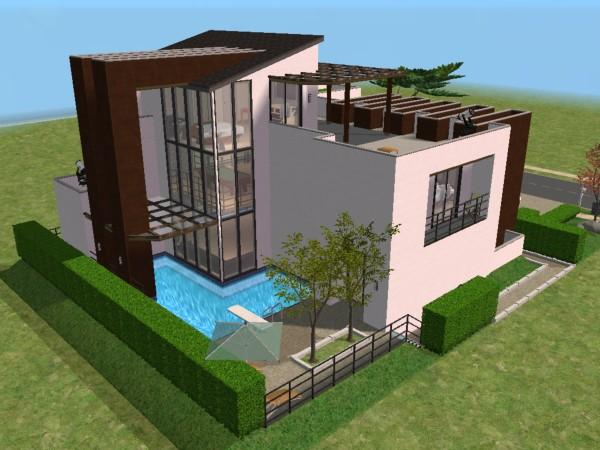 Mod Sims Rumah Simpel Tropis Advertisement Desain Modern 4 & Desain Rumah Minimalis The Sims 4 \u0026 The Sims Where Anything Look ...