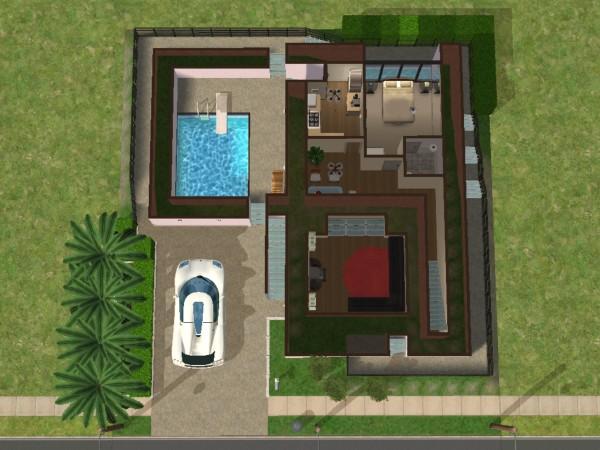 Mod The Sims - Rumah Modern Tropis 2 & Desain Rumah Modern The Sims 4 ~ Inspirasi Terbaik Desain Rumah ...