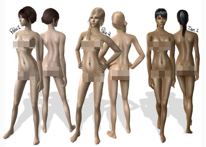Скины голых людей на игры что