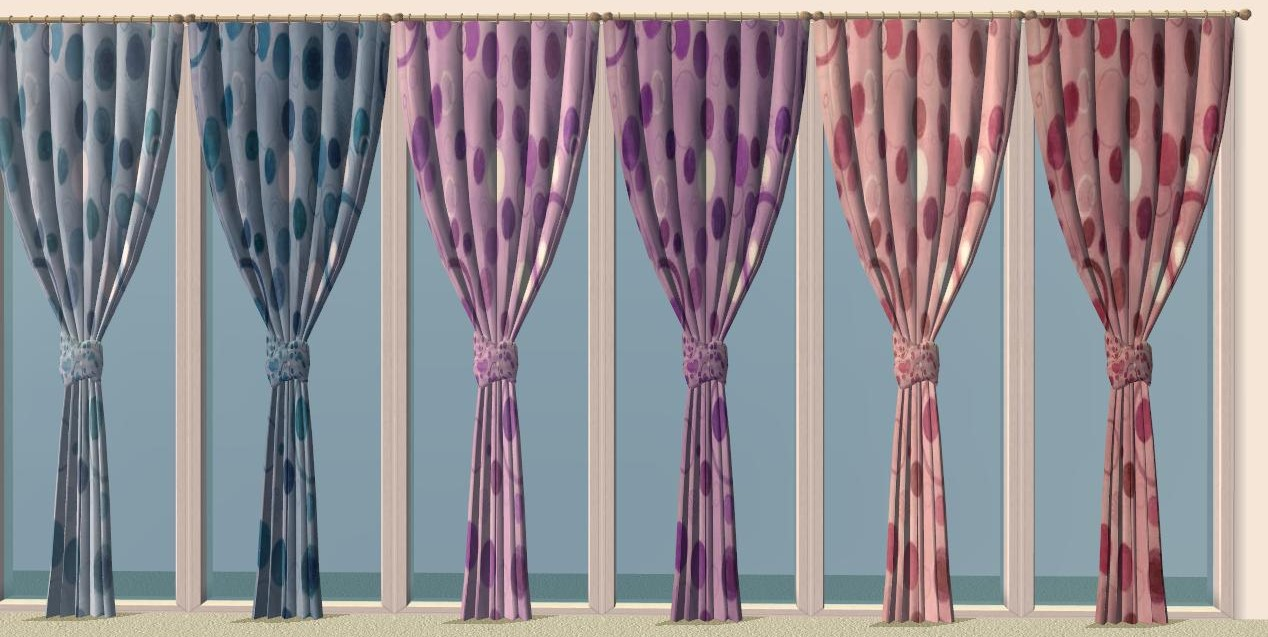Gathered curtains - Advertisement