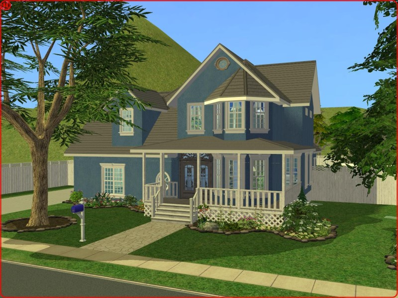 Mod the sims 3 bedroom traditional style family home for Classic house sims 3