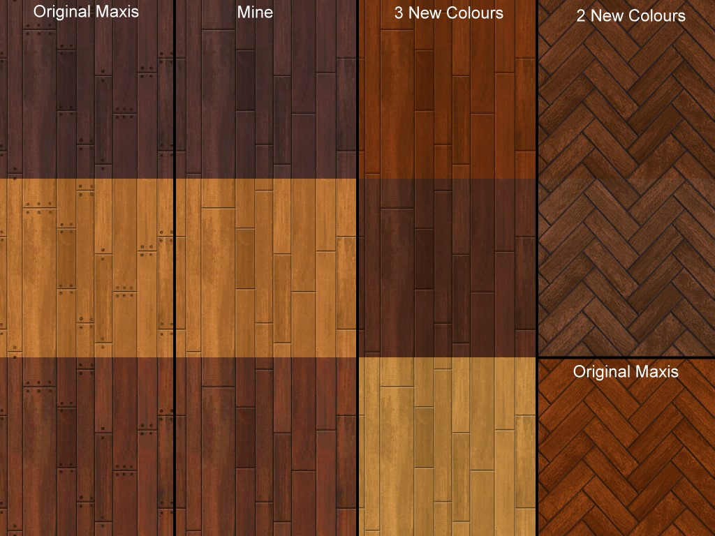 Mod The Sims Apartment Life Wood Floors Redone D