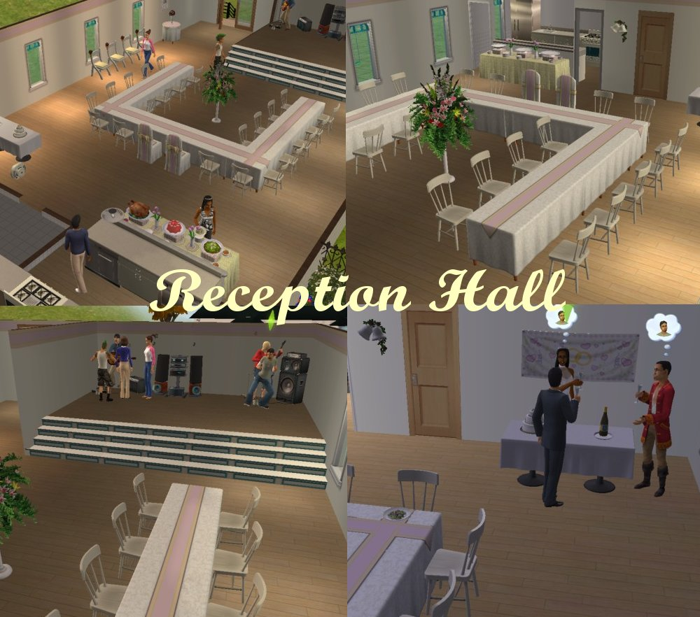Wedding Altar Sims 2: Community Church For Weddings