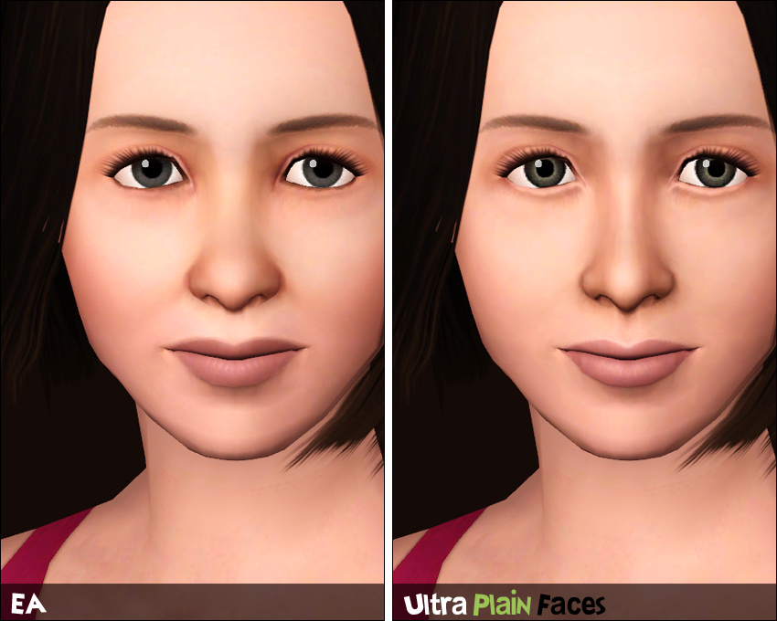 how to change sims face in sims 4