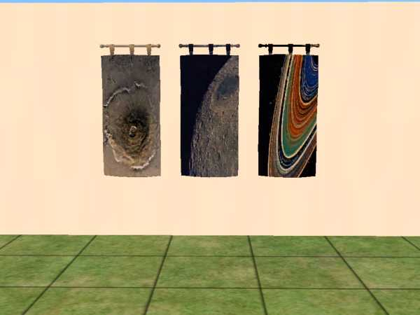 Mod the sims testers wanted 6 tapestries themed space for Space themed tapestry