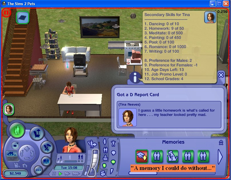 Do kids do homework sims 2 student essays for college