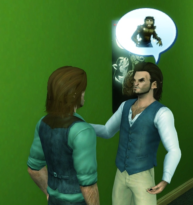 Mod The Sims - Friendly Werewolf Cursed Bite (compatible with 1 67)