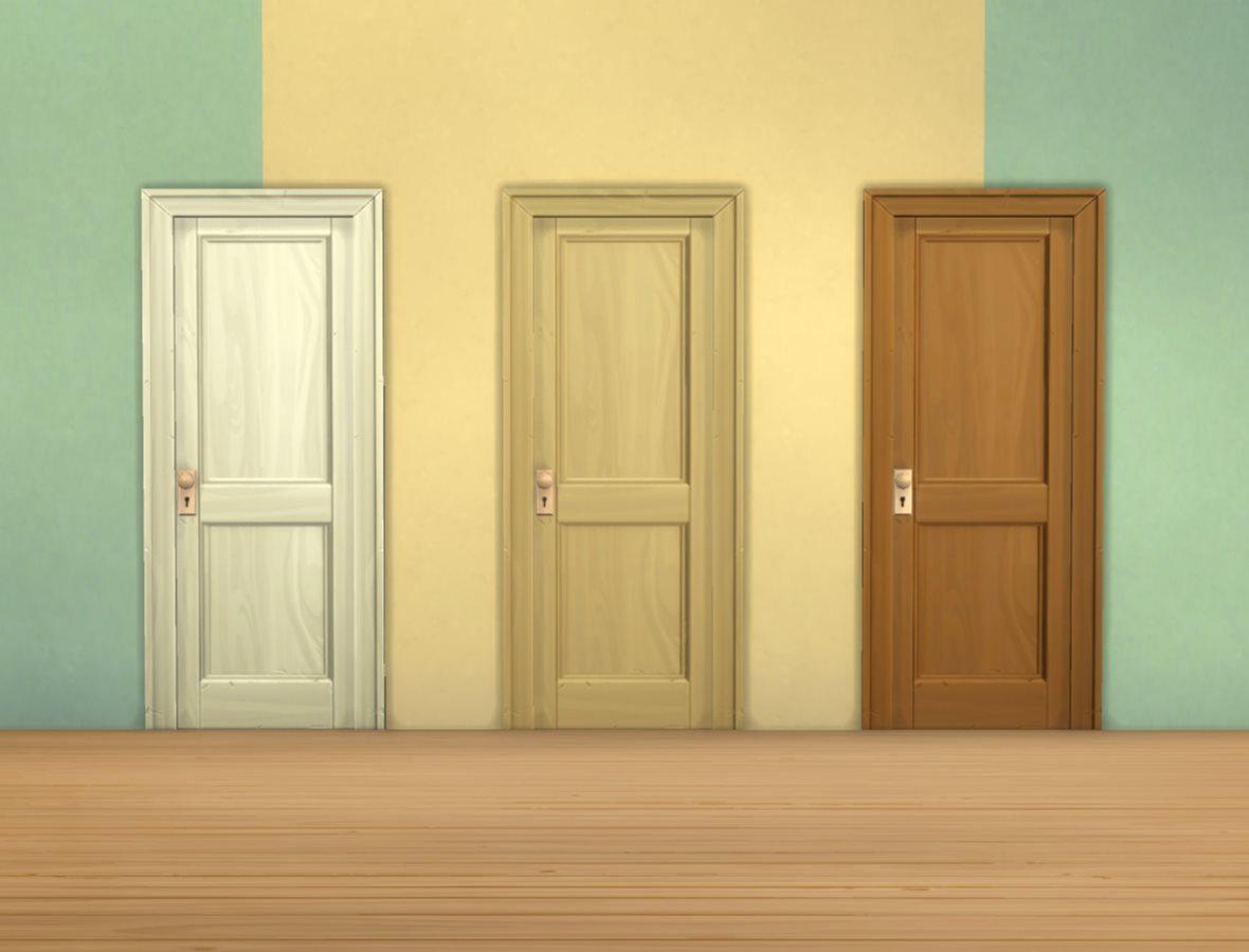 межкомнатные двери цвет орех