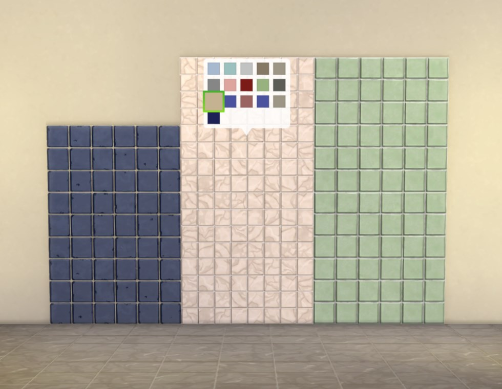 Mod The Sims Modular Tile Panels ‒ Small Tiles