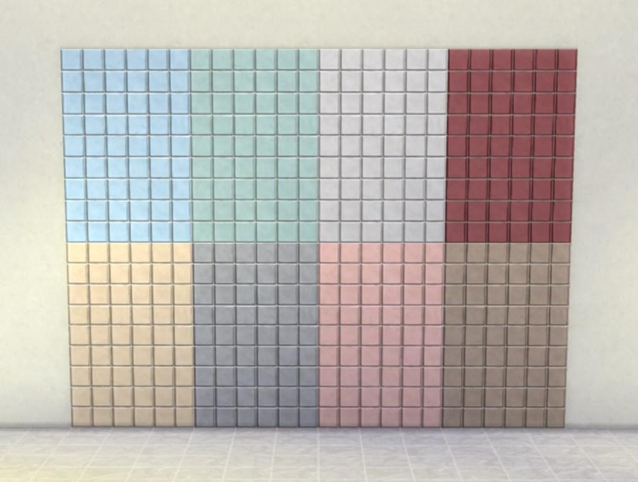 Mod The Sims - Modular Tile Panels ‒ Small Tiles