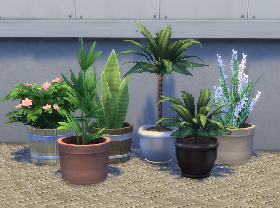 Mod the sims modular plants v for Indoor gardening sims 4