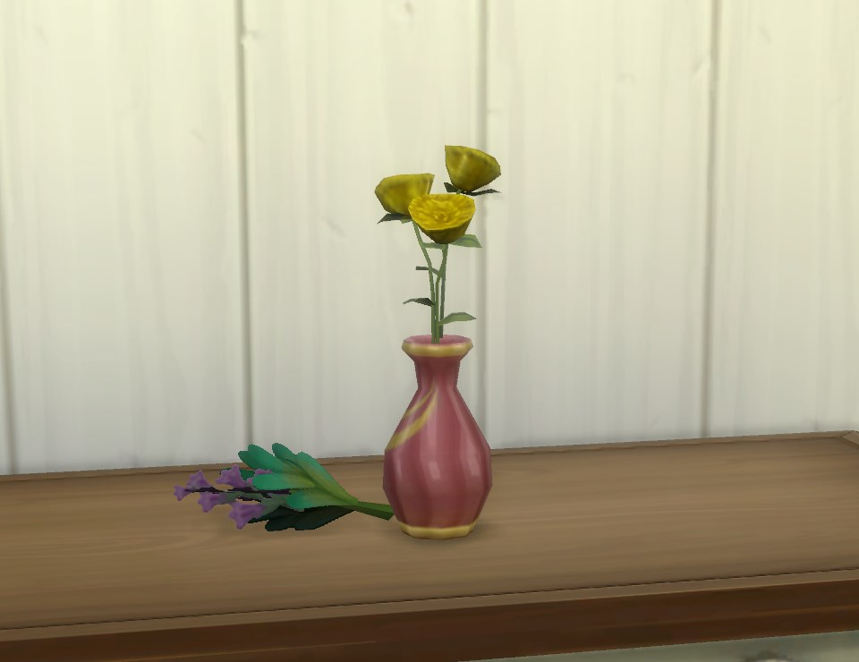 Mod the sims vase for garden flowers for Indoor gardening sims 4