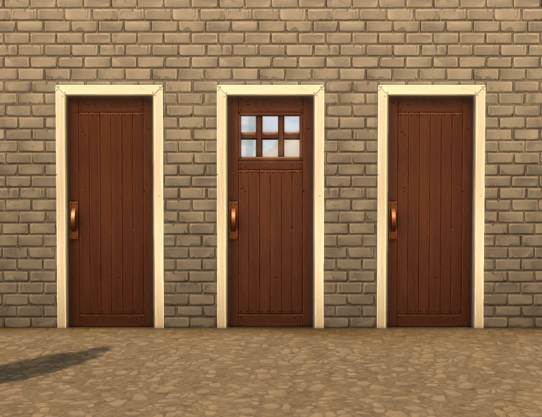 Advertisement: & Mod The Sims - Mega (Budget) Doors one- and two-tile Pezcame.Com