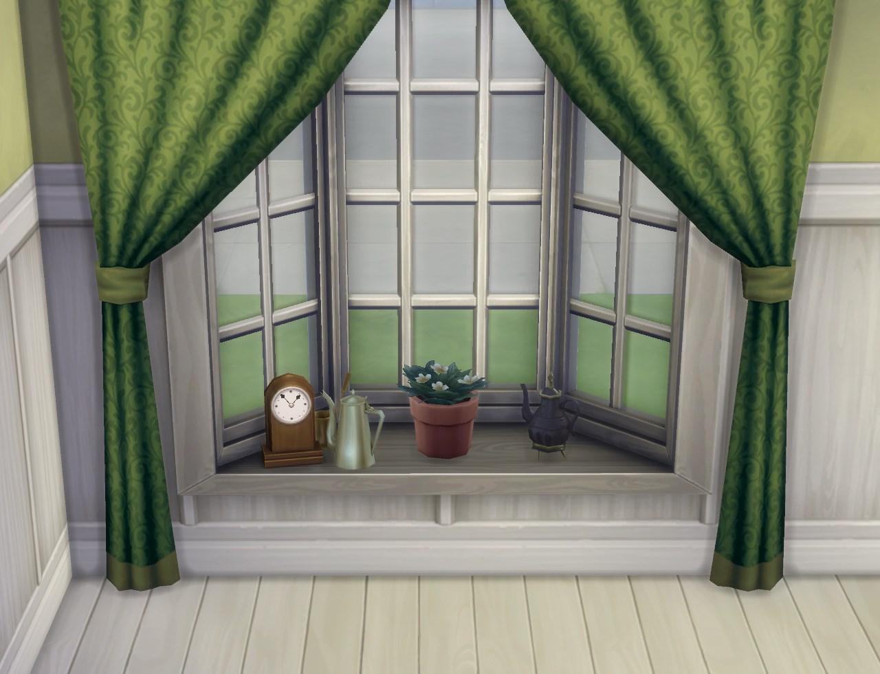 Mod The Sims Basic Bay Window Slots