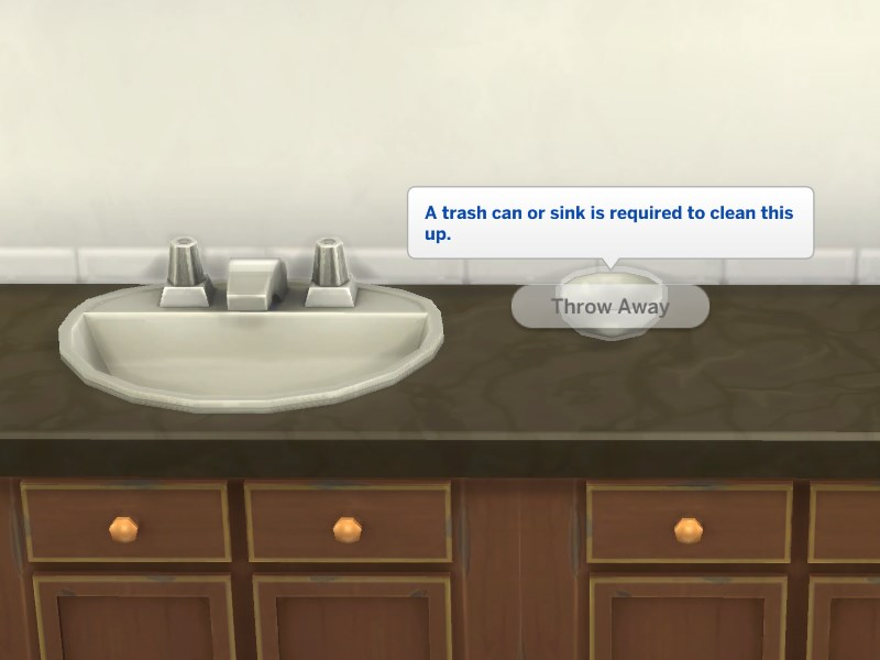 Mod the sims no dishes in bathroom sinks for Bath sink and toilet packages