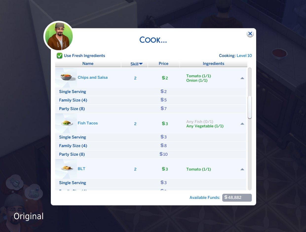 Cooking Issues Chat Room