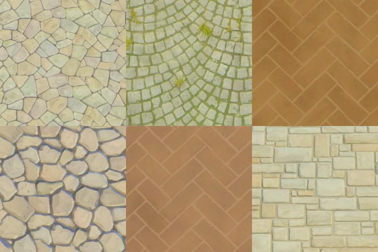 Mod The Sims Bg World Wall Terrain Stone Floors