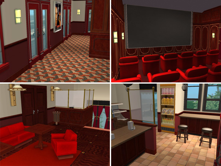 Mod The Sims Backdoor Lane 39 Oldfashioned Movie