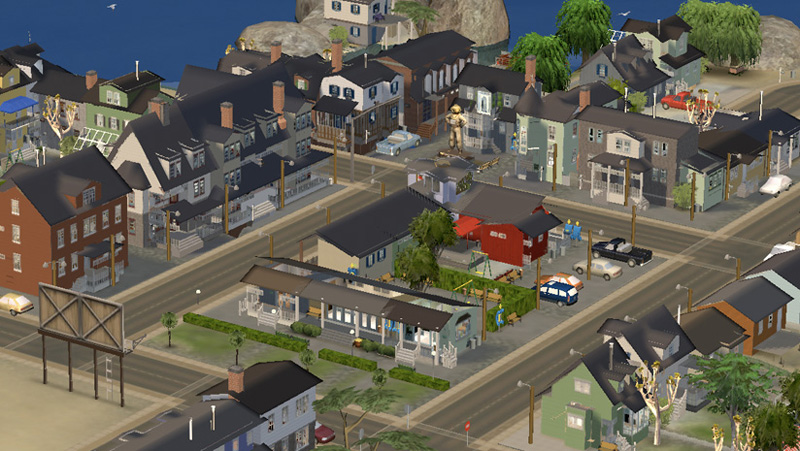 Mod The Sims Elsewhere Neighbourhood With Lots