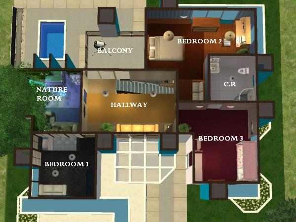 Mod The Sims The Maverick Home a nice modern home