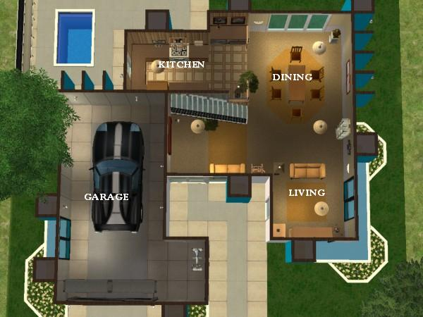 advertisement - Modern Home Layout