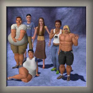 Mod the sims 2x weight and fitness integration core mod by consort advertisement ccuart Image collections