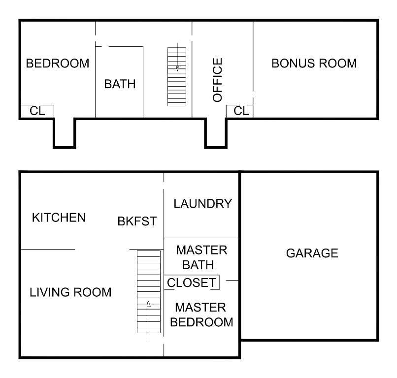 Mod the sims blue cape cod 3 bdrm 2bath for Sims 3 floor plan