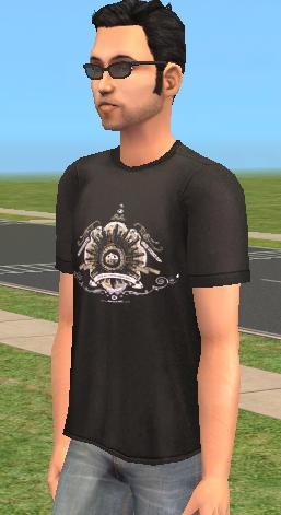Mod The Sims - deviantART Male T-Shirt 4 Pack
