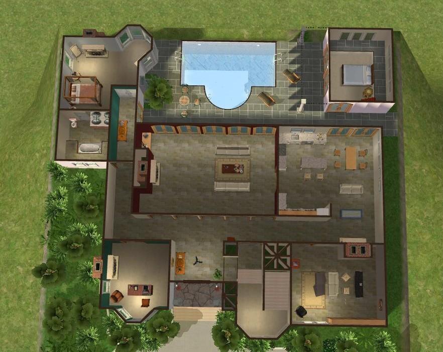 Mod The Sims - Cohen House, The O.C.