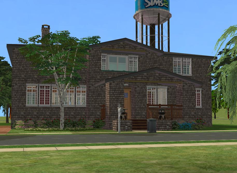 Mod the sims berkeley house the o c for The berkeley house