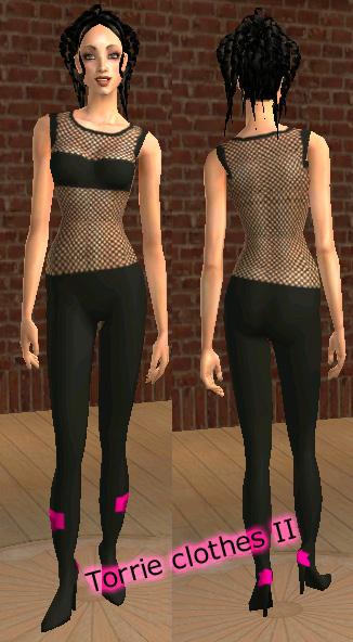 Mod the sims diva clothes for Diva attire