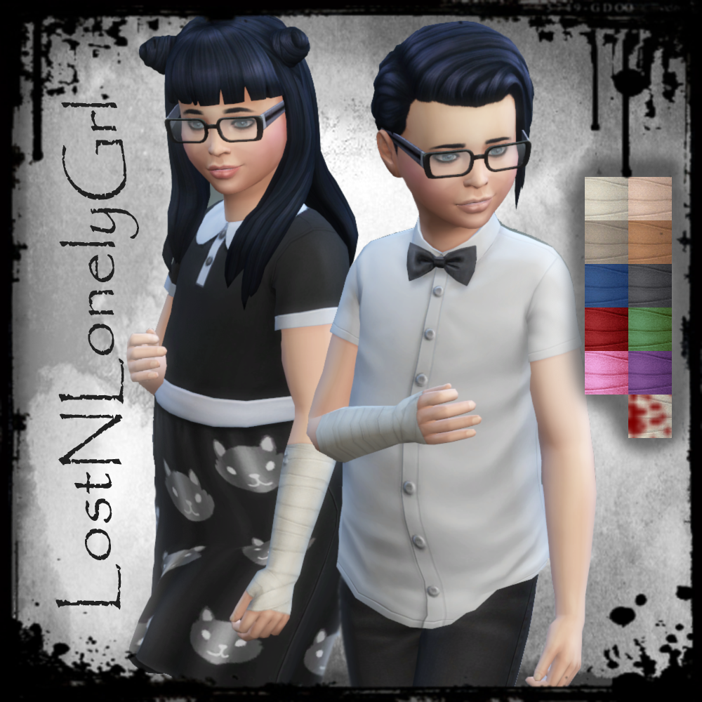 Mod The Sims - Bandage Gloves 4 All! (Requires DU)