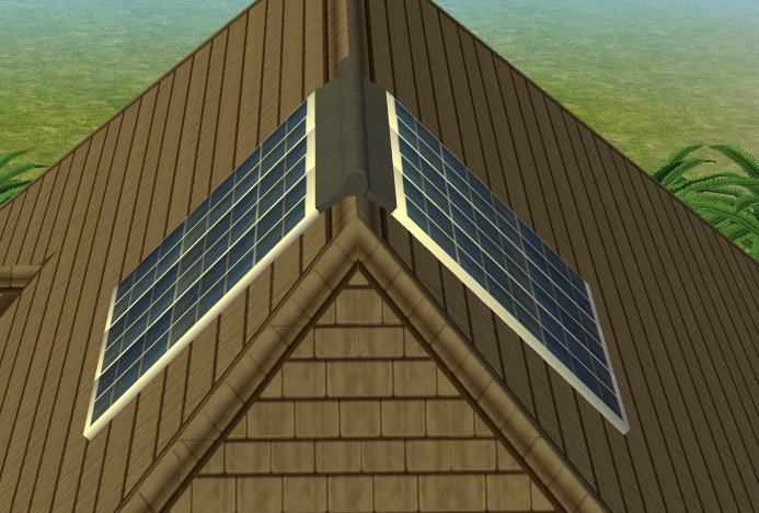 mod  sims eco friendly solar panels  cc designs updated  base game compatible