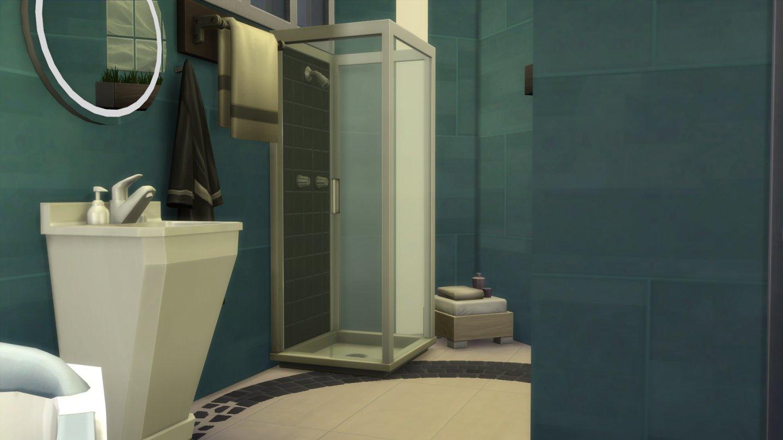 Mod The Sims Modern Luxury 1 Bedroom 1 Bathroom. Baby Sims Bathroom