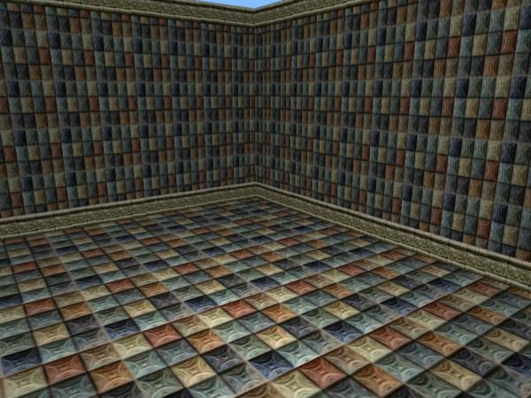 mod the sims beautiful colored tile wall floor