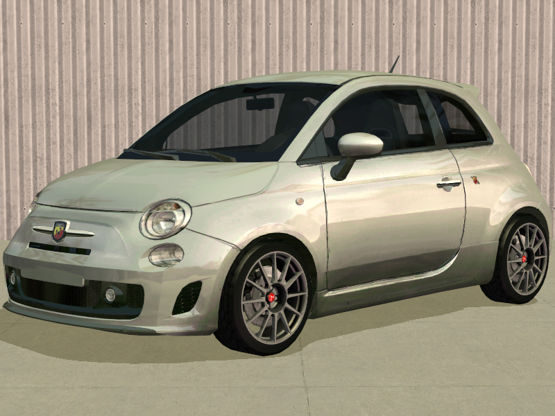 mod the sims fp 39 s fiat 500 abarth for ts2. Black Bedroom Furniture Sets. Home Design Ideas