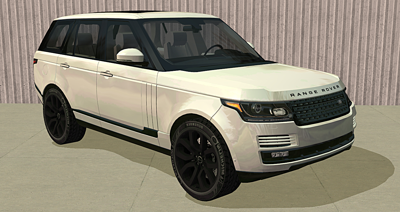 mod the sims f p 39 s 2016 land rover range rover. Black Bedroom Furniture Sets. Home Design Ideas