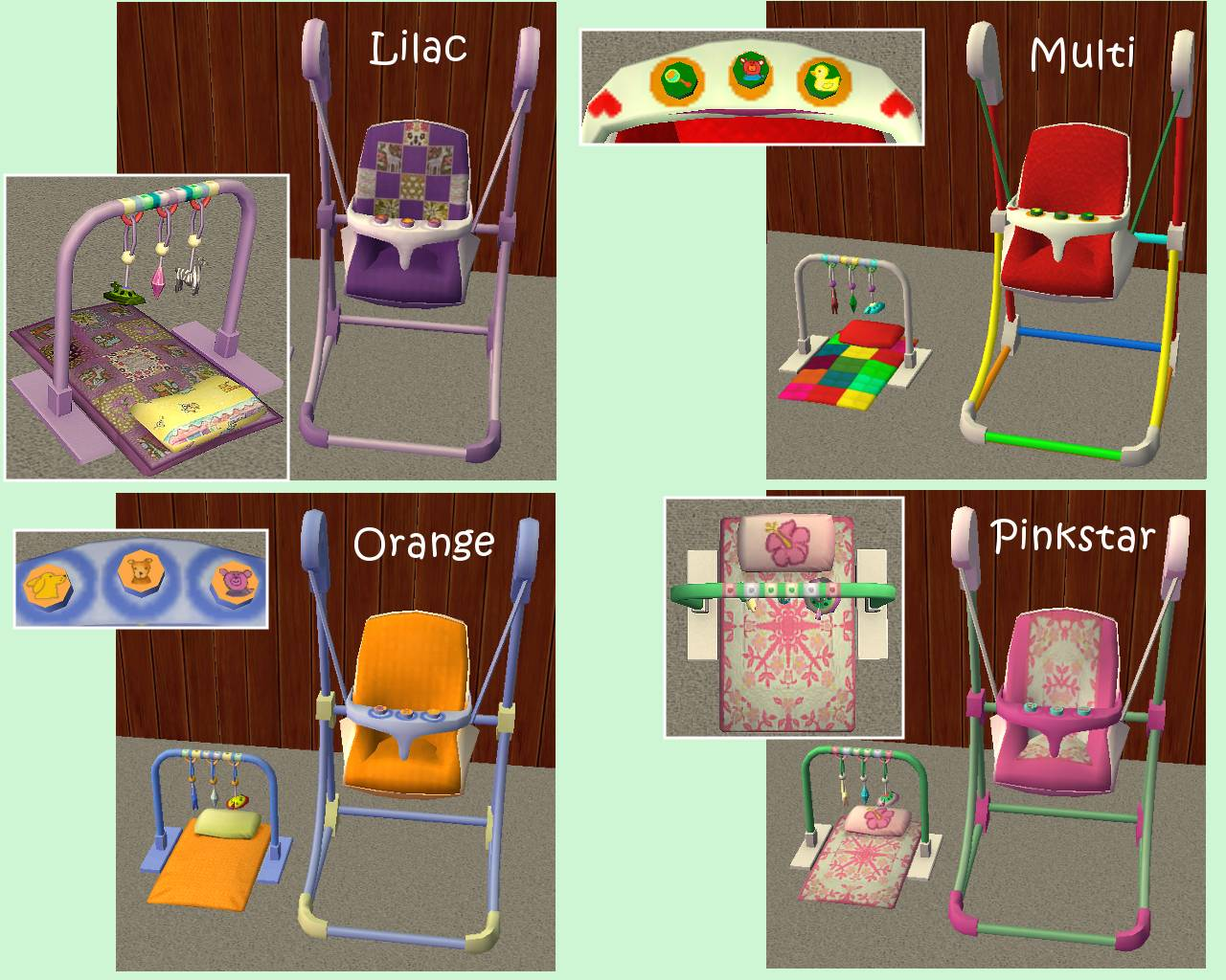 sims 2 baby clothes downloads