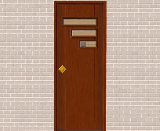 Mod The Sims New Mesh Tresvisions Retro Front Door
