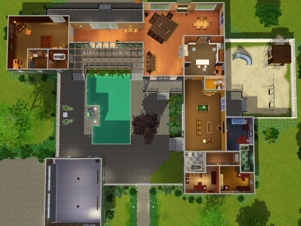 Mod The Sims The Trieber House 15 Summer Hill Court